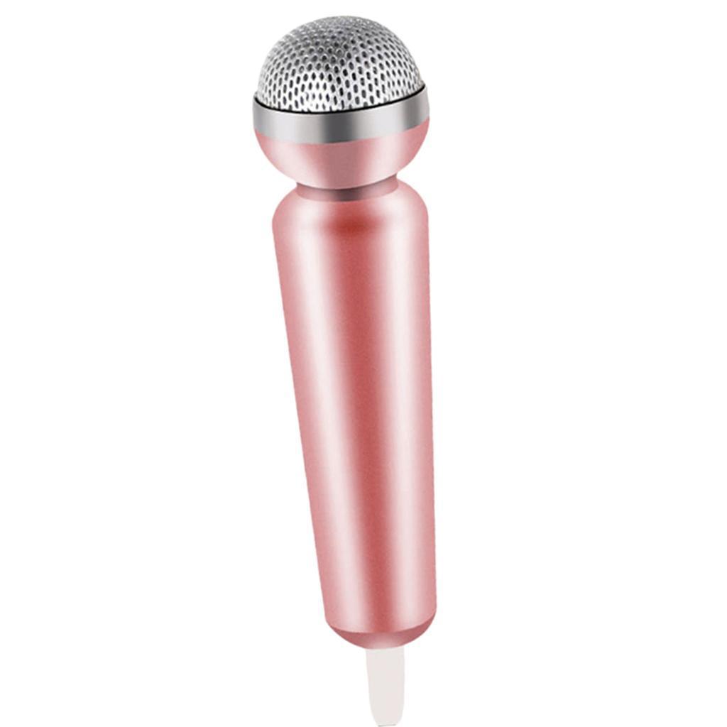 Mini-Microfono-Stereo-Mic-Per-Telefono-PC-Chattare-Cantando-Karaoke miniatura 8