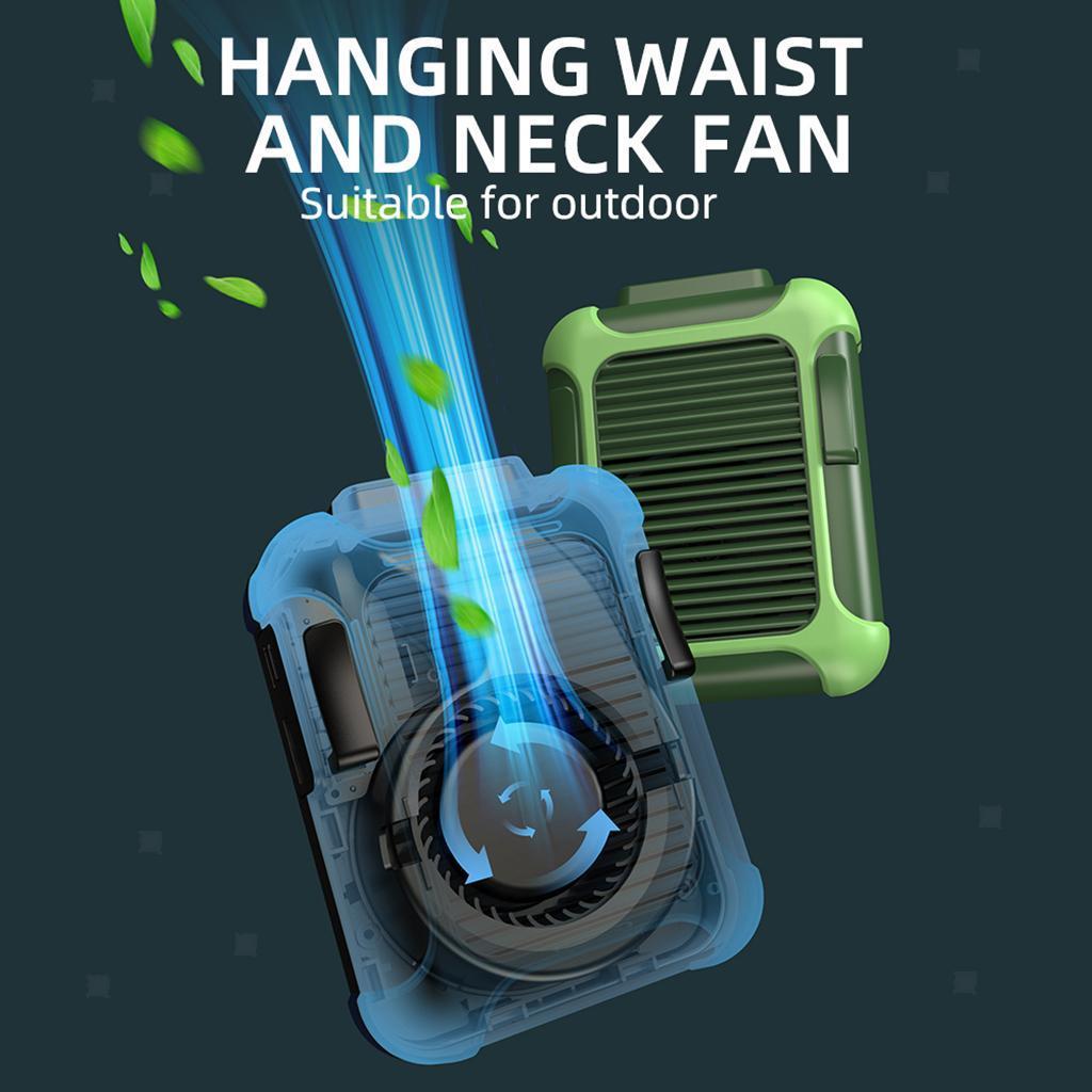 5V-USB-Portable-Mini-ventilateur-taille-ventilateur-suspendu-pour-les-Sports-de miniature 10