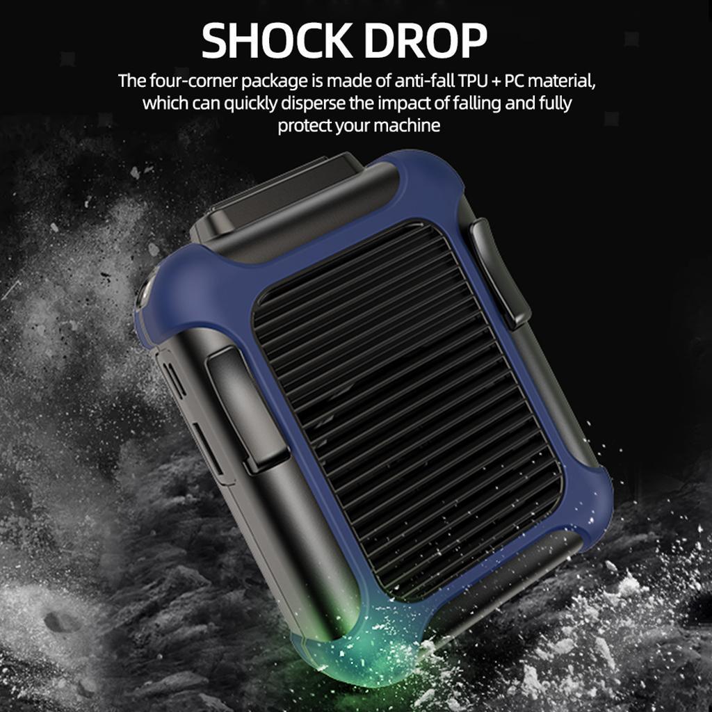 5V-USB-Portable-Mini-ventilateur-taille-ventilateur-suspendu-pour-les-Sports-de miniature 7