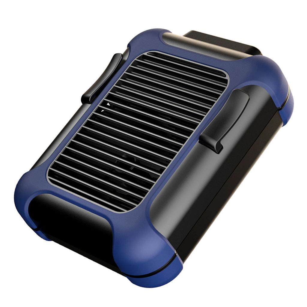 5V-USB-Portable-Mini-ventilateur-taille-ventilateur-suspendu-pour-les-Sports-de miniature 4