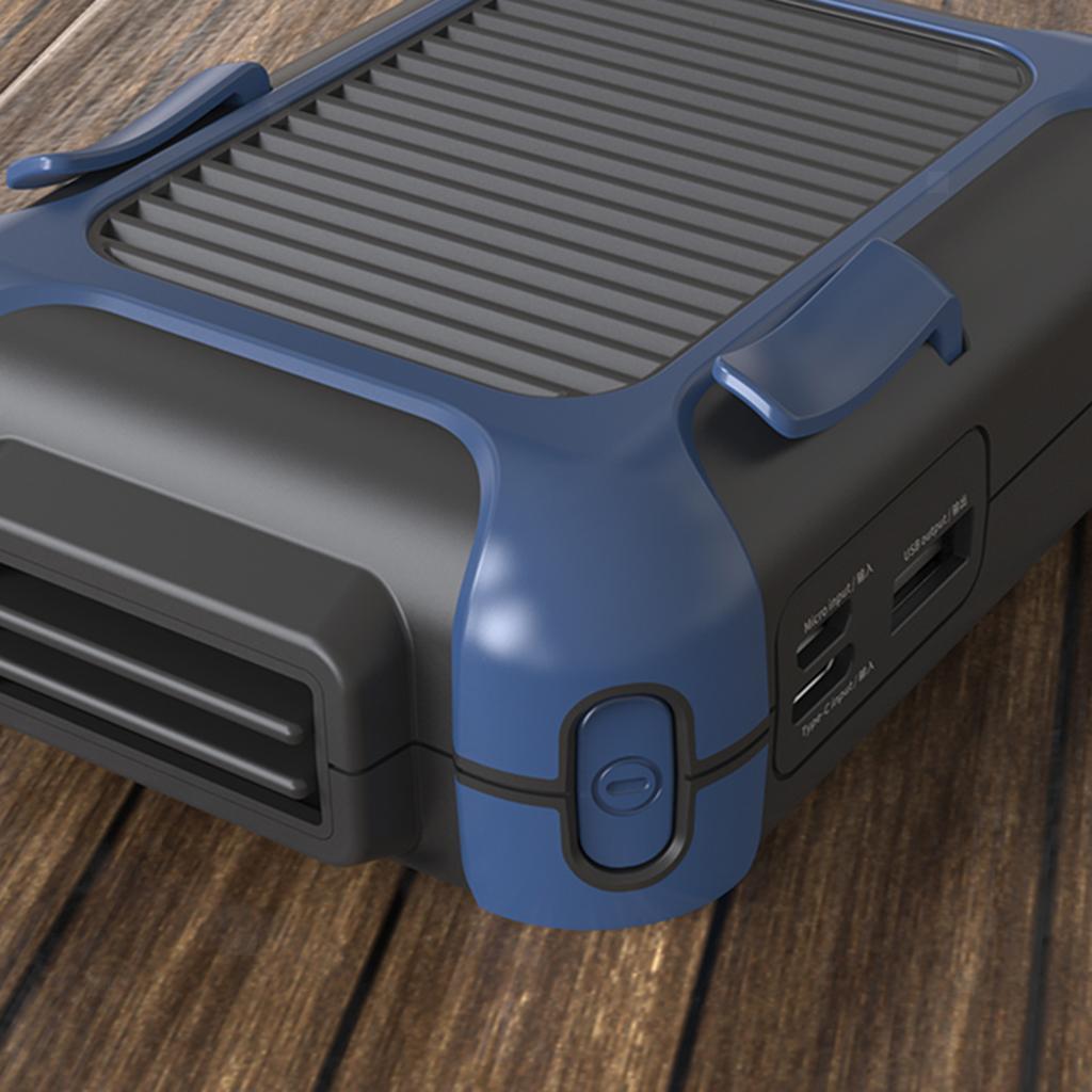 5V-USB-Portable-Mini-ventilateur-taille-ventilateur-suspendu-pour-les-Sports-de miniature 8