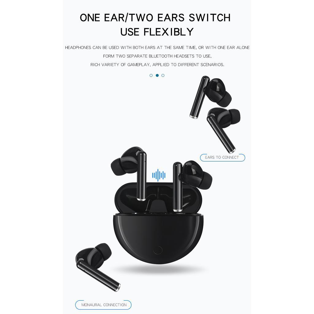 Senza-fili-di-Bluetooth-Cuffie-5-0-Auricolari-TWS-Auricolari miniatura 23