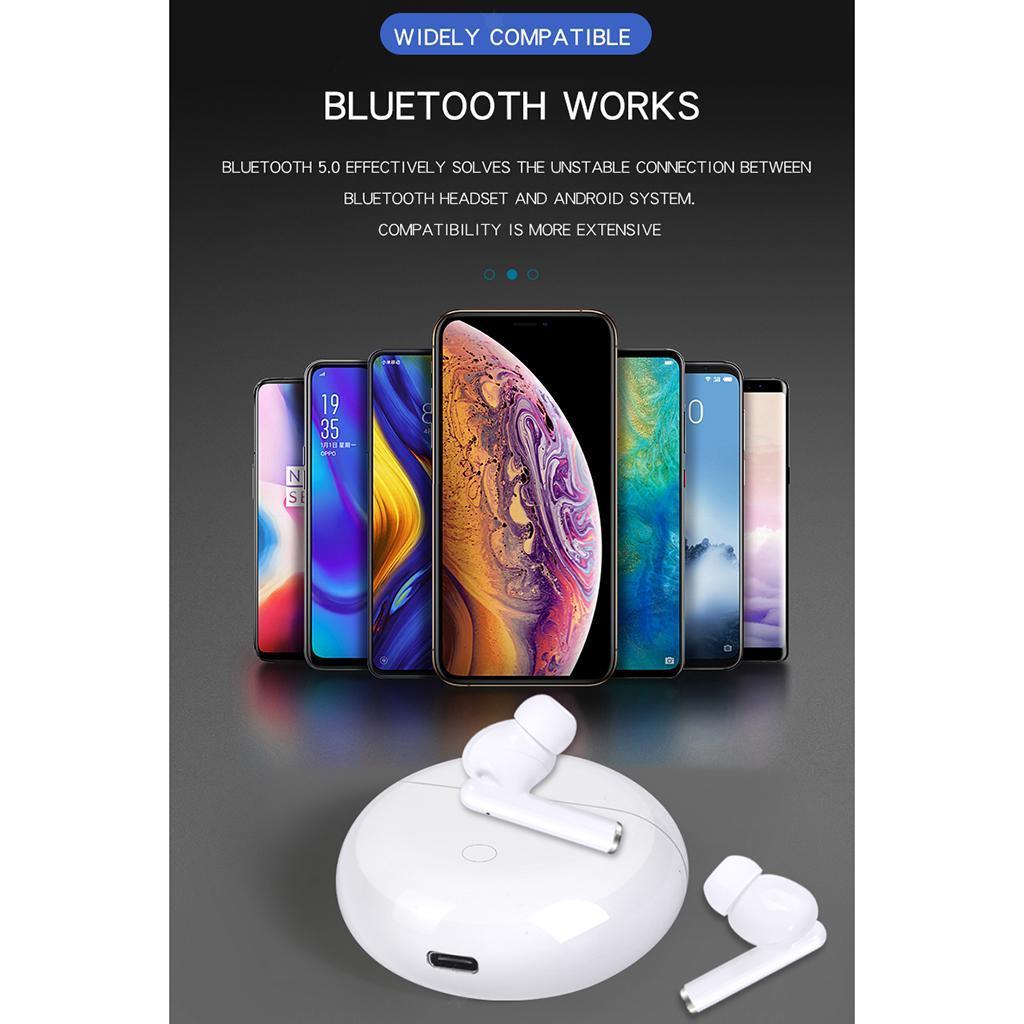 Senza-fili-di-Bluetooth-Cuffie-5-0-Auricolari-TWS-Auricolari miniatura 25