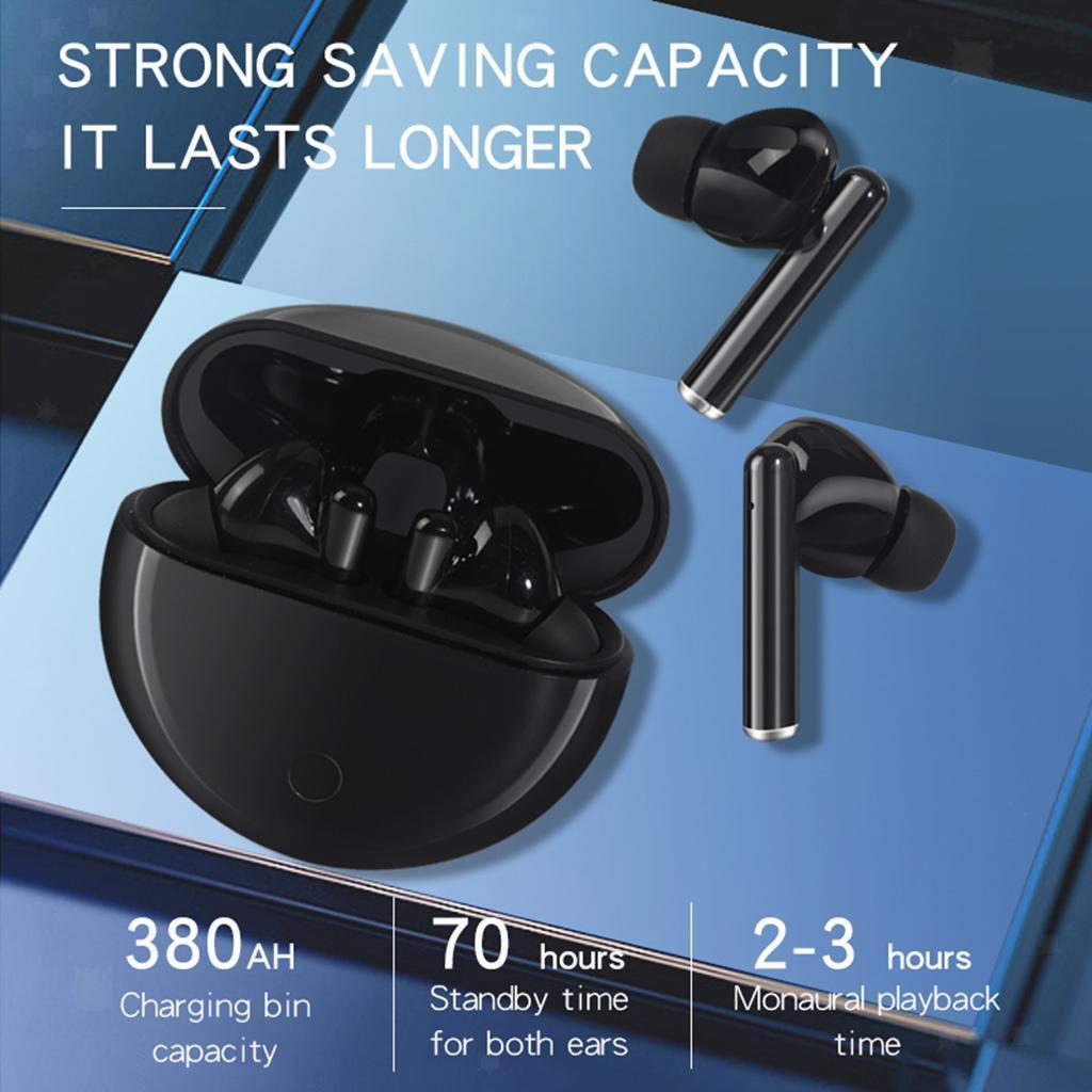 Senza-fili-di-Bluetooth-Cuffie-5-0-Auricolari-TWS-Auricolari miniatura 17