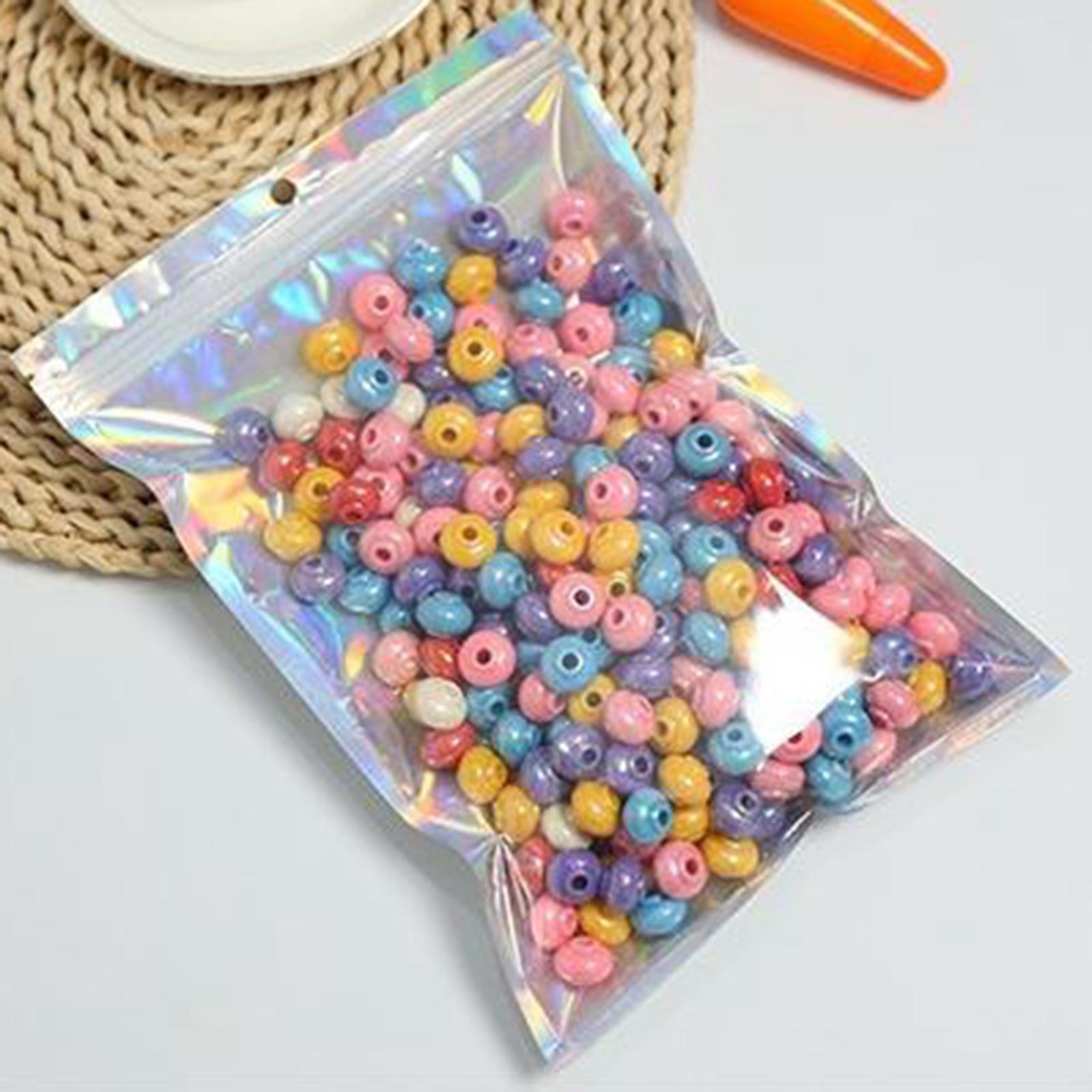 100-pezzi-sacchetti-di-pellicola-trasparente-sacchetto-sigillatura-richiudibile miniatura 13