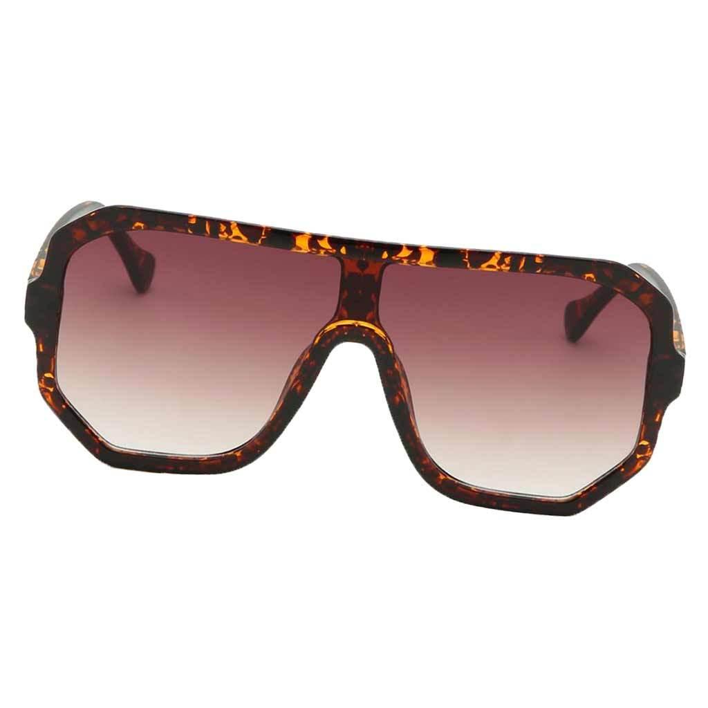 Frauen-Herren-Vintage-Style-Rechteck-Sonnenbrille-UV400-Flat-Top-Fashion Indexbild 14