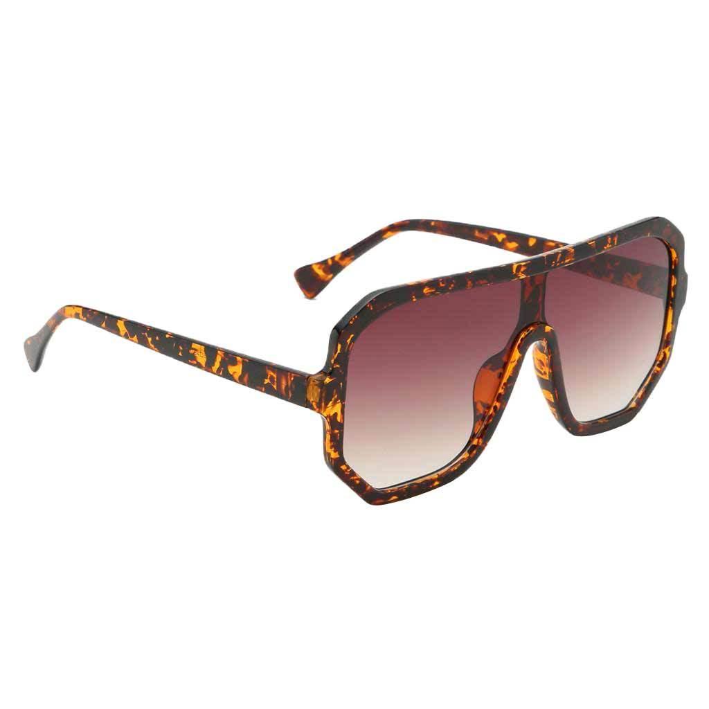 Frauen-Herren-Vintage-Style-Rechteck-Sonnenbrille-UV400-Flat-Top-Fashion Indexbild 15