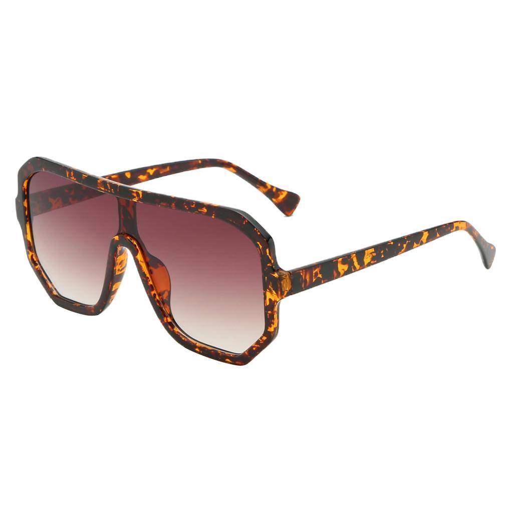 Frauen-Herren-Vintage-Style-Rechteck-Sonnenbrille-UV400-Flat-Top-Fashion Indexbild 16
