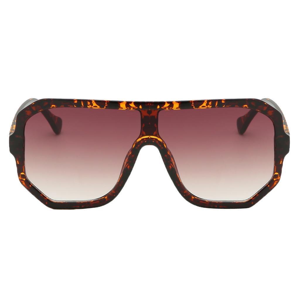 Frauen-Herren-Vintage-Style-Rechteck-Sonnenbrille-UV400-Flat-Top-Fashion Indexbild 18