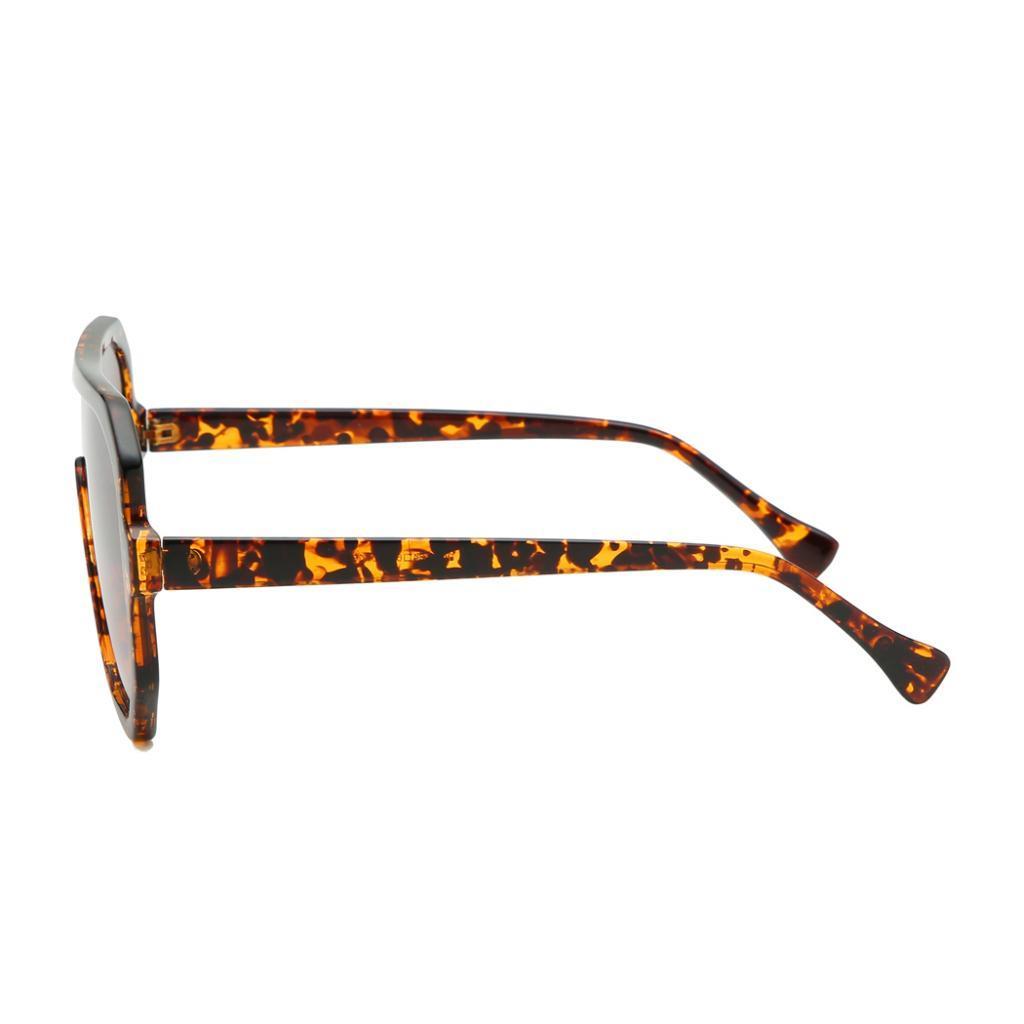 Frauen-Herren-Vintage-Style-Rechteck-Sonnenbrille-UV400-Flat-Top-Fashion Indexbild 19