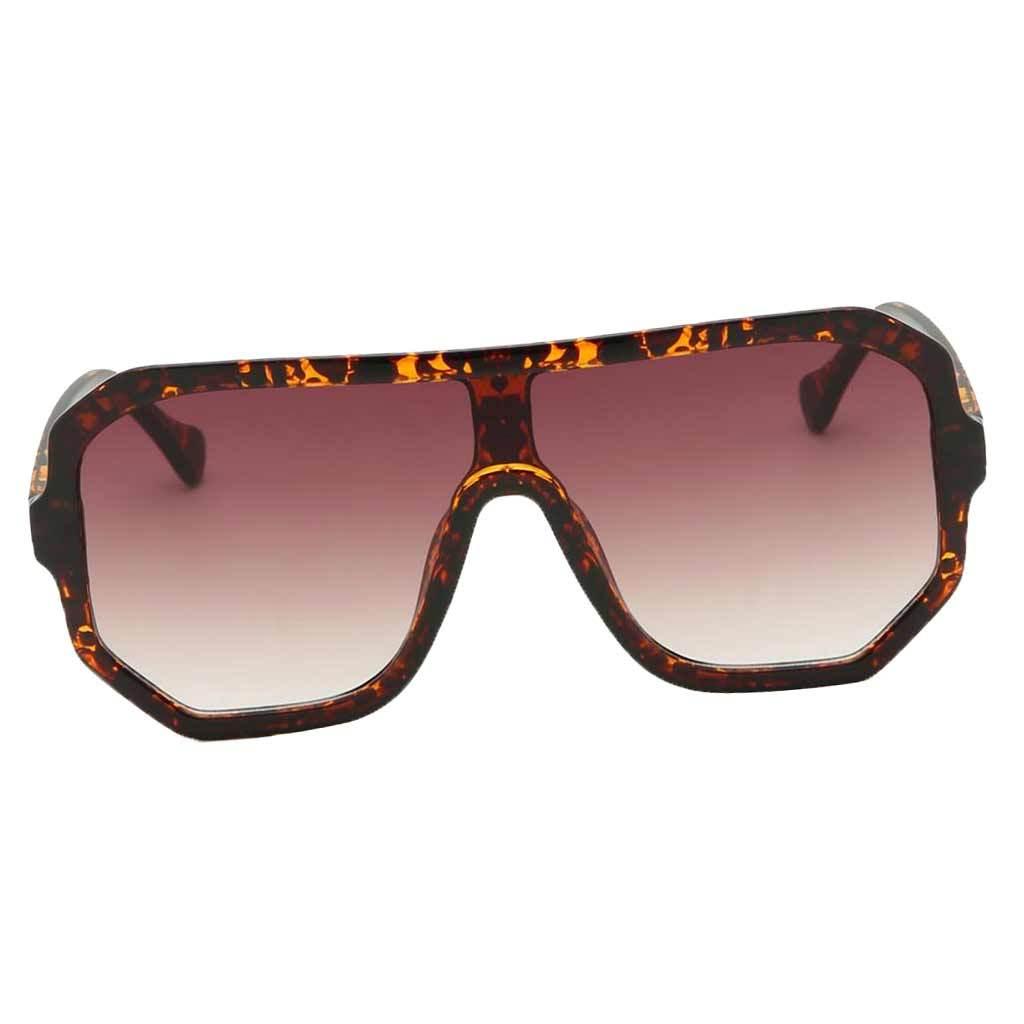 Frauen-Herren-Vintage-Style-Rechteck-Sonnenbrille-UV400-Flat-Top-Fashion Indexbild 13