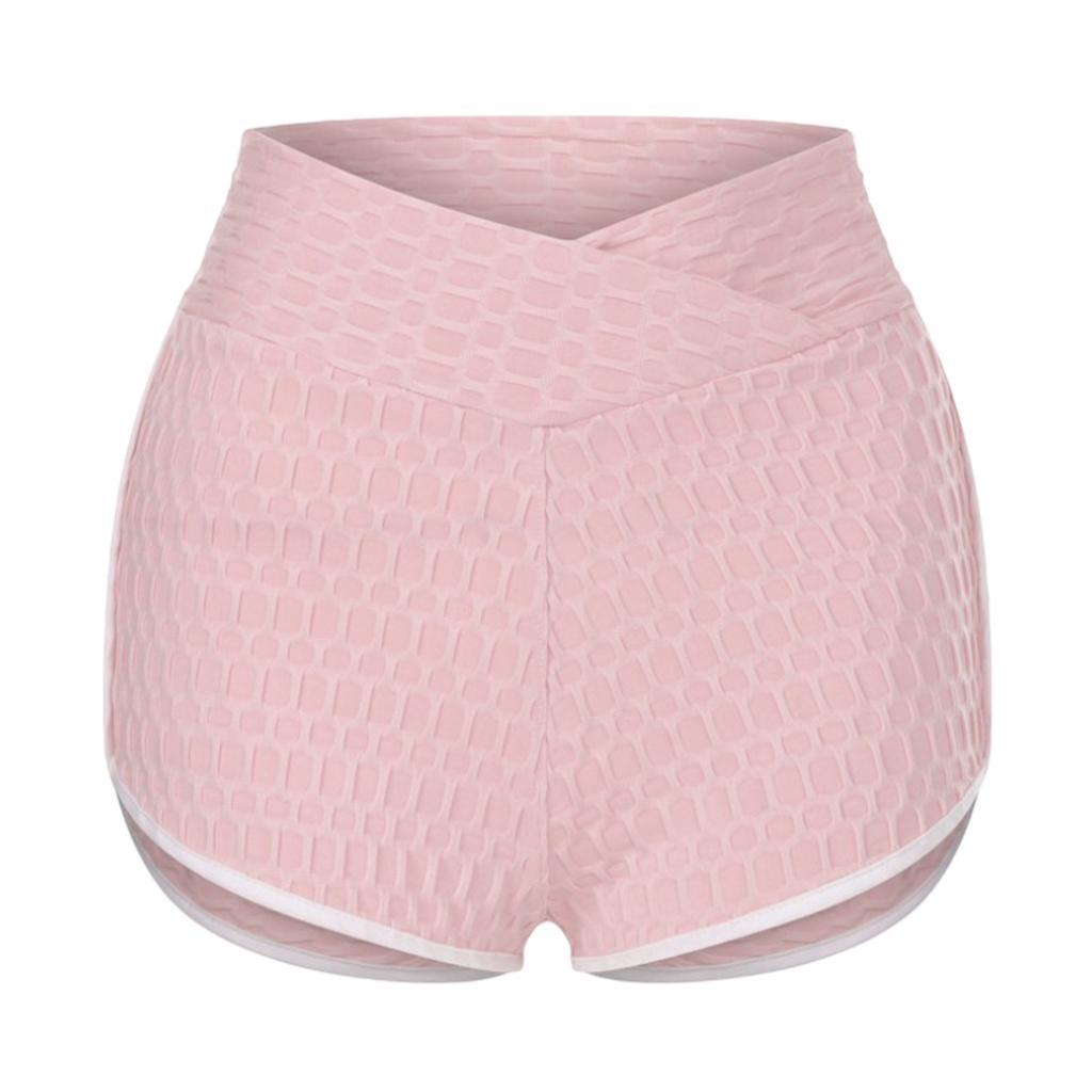 miniature 13 - Pantalons chauds femmes taille haute shorts de yoga fesses de levage Scrunch