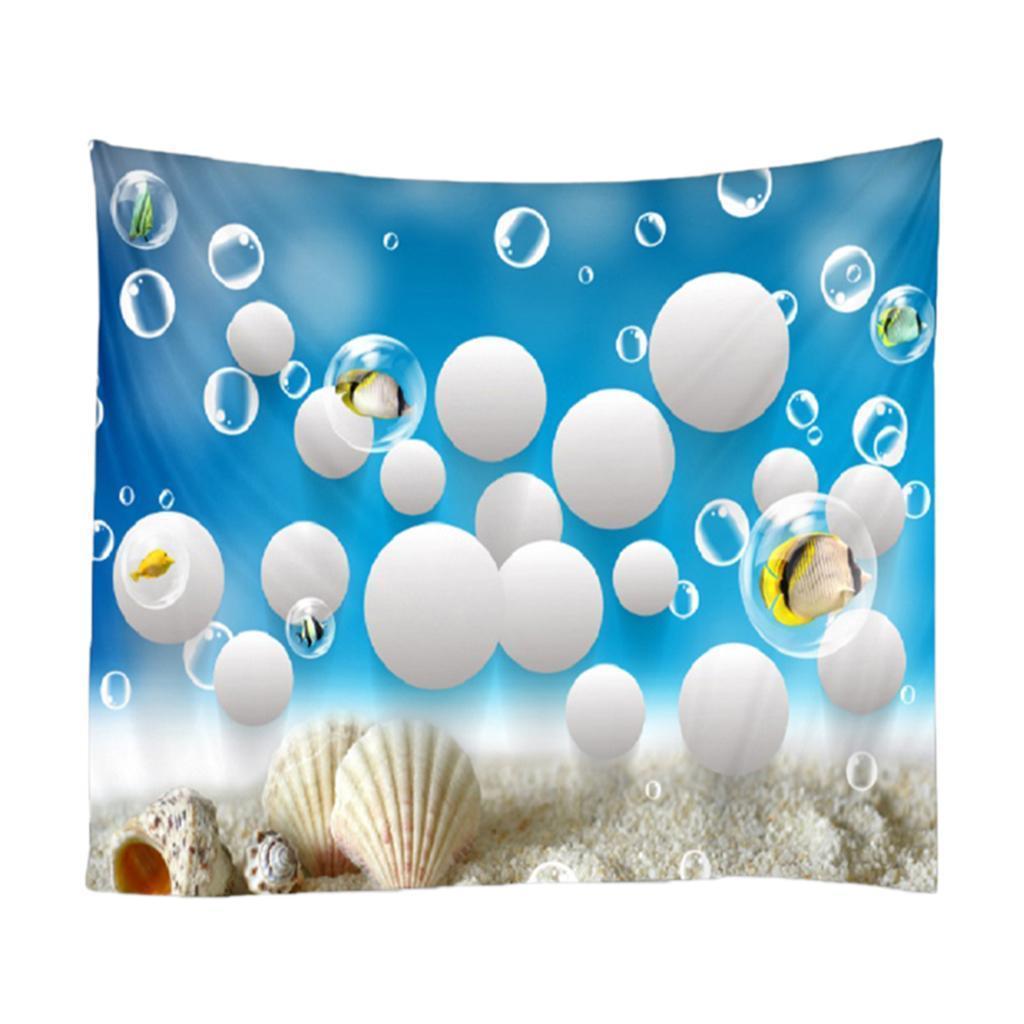 Effetto-3D-Sottomarino-World-Wall-Appeso-Tapestry-Party-Sfondo miniatura 6