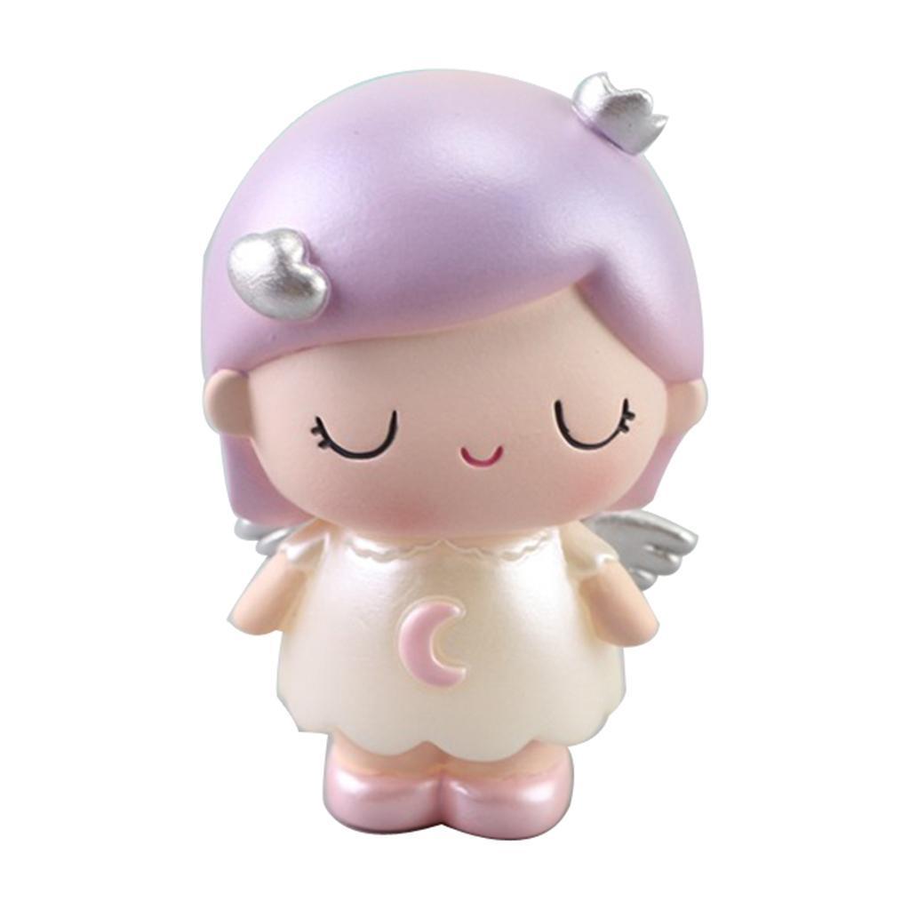 Ornement-En-Resine-Figurine-De-Bureau-Angle-Mignon miniature 3