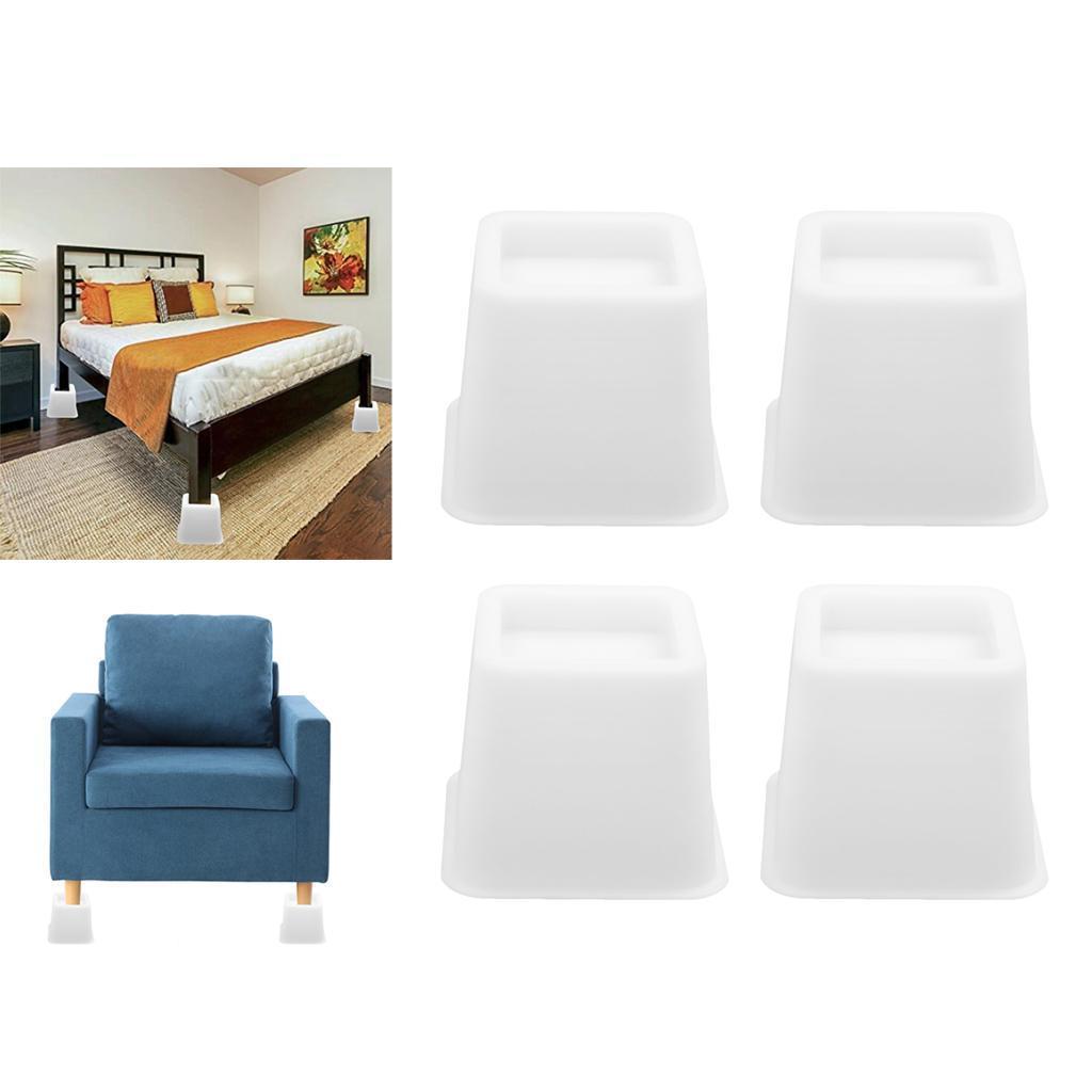 Alzate-per-mobili-Set-da-4-pezzi-Tavolino-regolabile-per-sedia-Alzata-Utopia miniatura 4