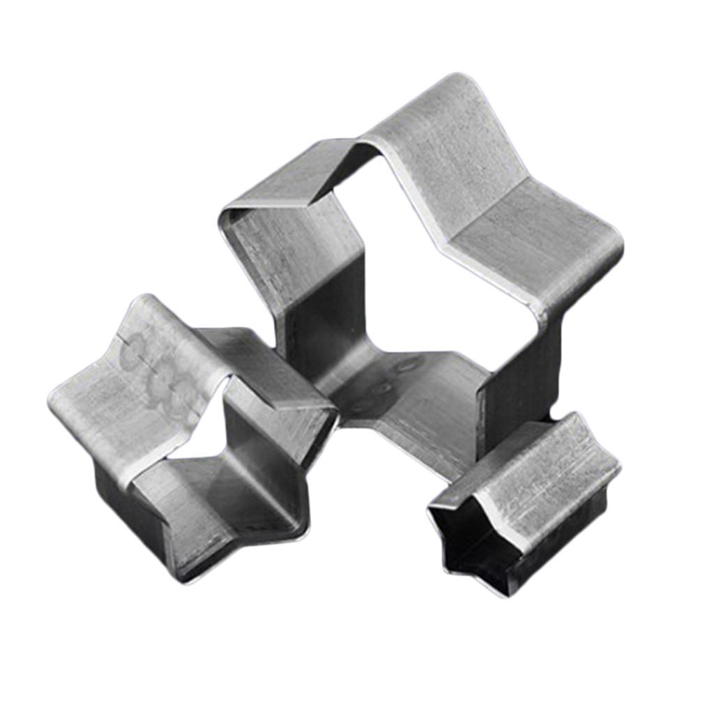 3x-Leathercraft-Punch-Die-Cutters-Stampi-Per-Tagliare-Il-Tessuto-In-Pelle miniatura 8