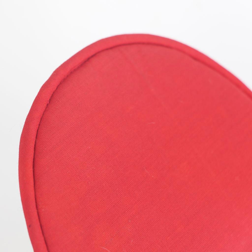 Tessuto-Rotondo-Tibetano-Singing-Bowl-Cuscino-per-Dharma-Buddhismo-Rosso miniatura 7