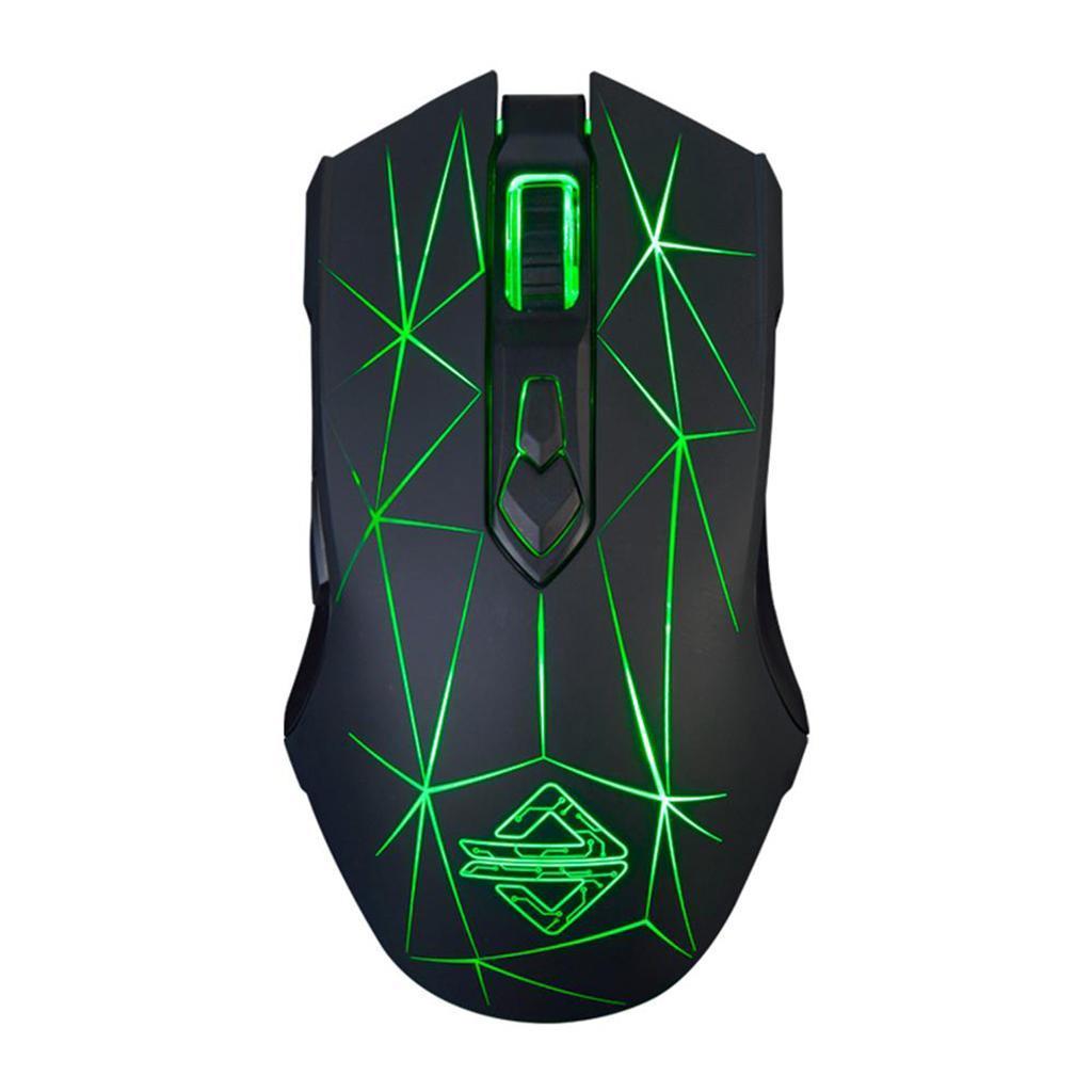 LED-Lights-Gaming-Mouse-Optique-USB-Filaire-Programmable-Pour-PC miniature 11