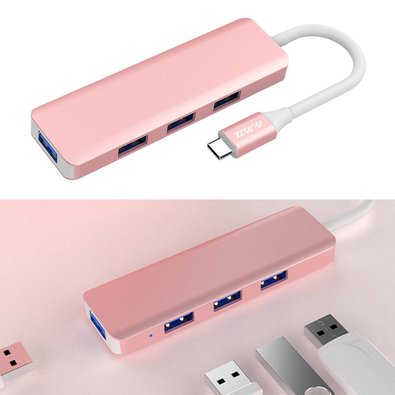 Multi-dans-1-type-C-Portable-Docking-station-USB-3-0-HDMI-PD-invite-Hub-pour-Macbook miniature 53