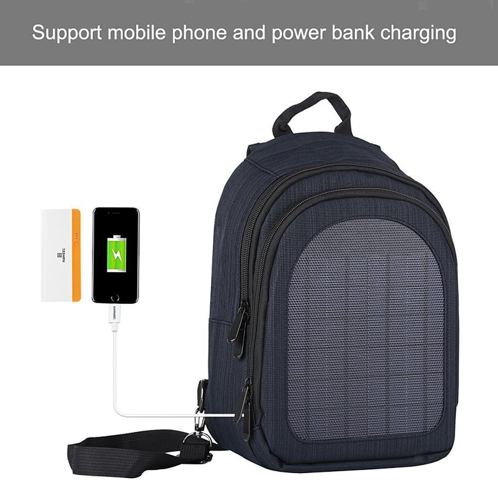 miniatura 35 - Con Cargador Solar mochila 2L para teléfonos inteligentes puerto de carga USB