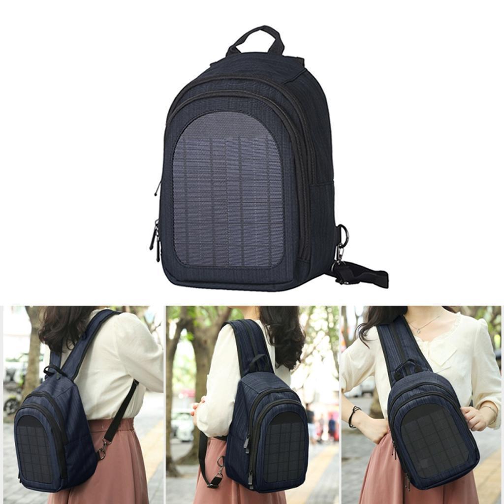 miniatura 30 - Con Cargador Solar mochila 2L para teléfonos inteligentes puerto de carga USB