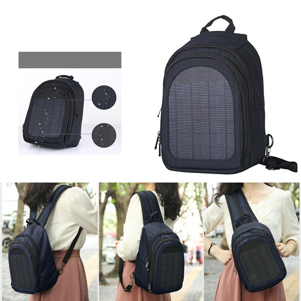 miniatura 38 - Con Cargador Solar mochila 2L para teléfonos inteligentes puerto de carga USB