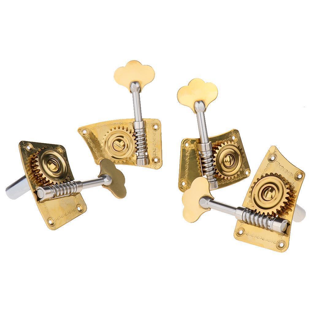 miniatura 4 - 4pcs Vertical Contrabaixo Cravelhas Cabeças Máquina Para Jogadores De Contrabaixo