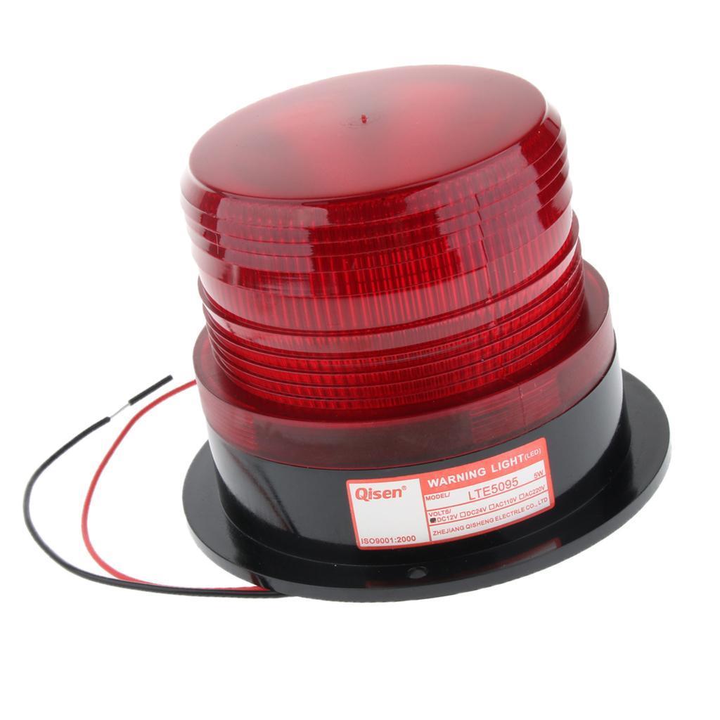 thumbnail 11 - 3×LED Emergency Beacon Flash Strobe Warning Light 12V Amber 60-90 Times/Min