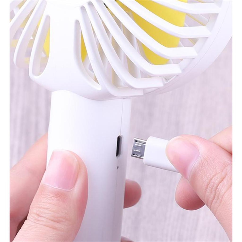 Petit-Ventilateur-Mini-USB-Rechargeable-etudiant-Portable-Petit-Portable miniature 5