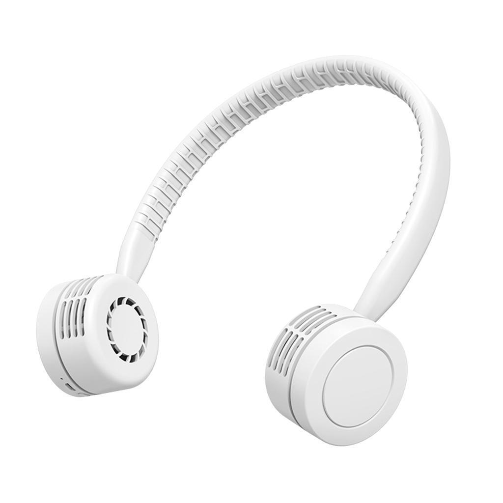Ventilateur-De-Cou-Suspendu-Mini-Portable-USB-Sports-electriques-Run-Coolband miniature 4