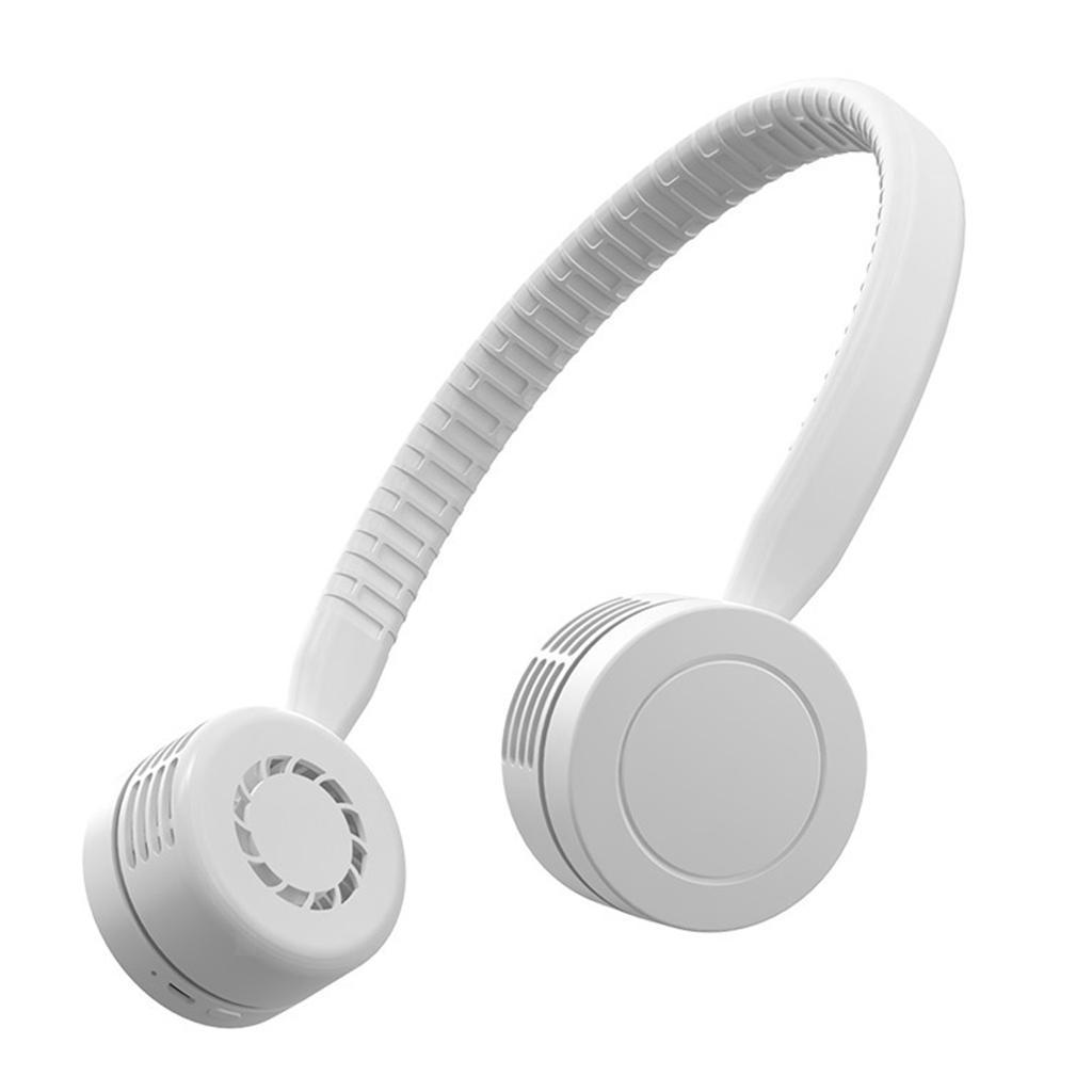 Ventilateur-De-Cou-Suspendu-Mini-Portable-USB-Sports-electriques-Run-Coolband miniature 3
