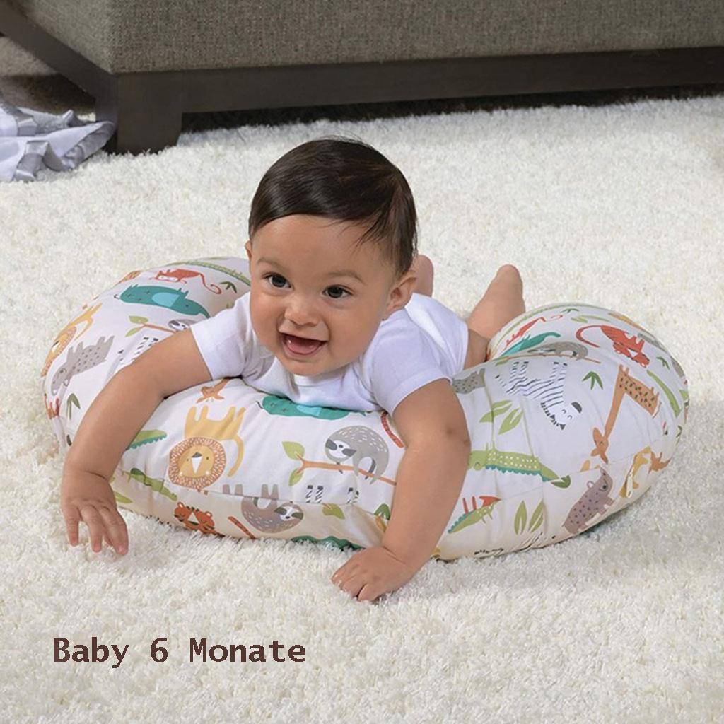 miniatura 3 - A Forma di U Del Bambino Cuscino Allattamento Cuscini di Cura per il Neonato