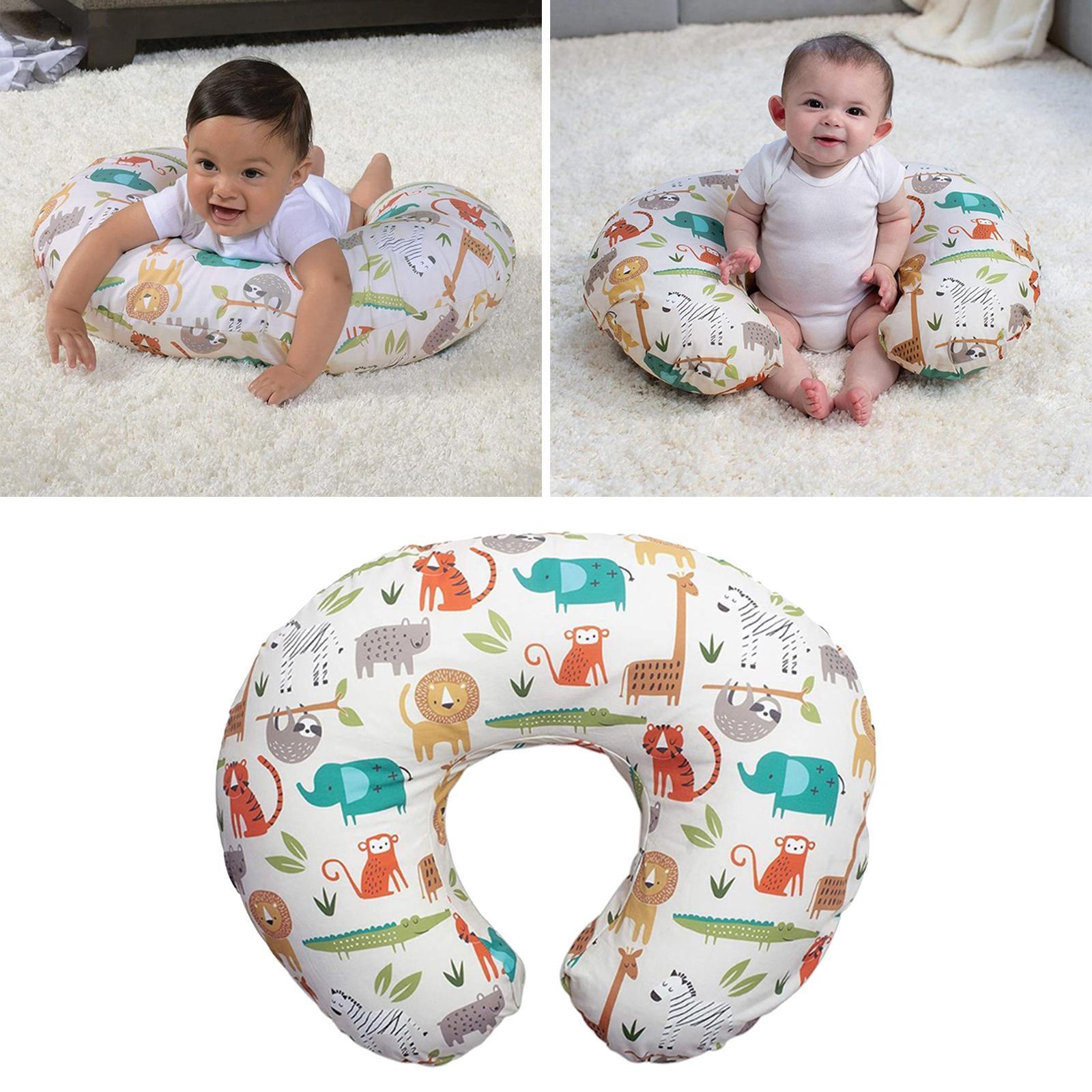 miniatura 4 - A Forma di U Del Bambino Cuscino Allattamento Cuscini di Cura per il Neonato