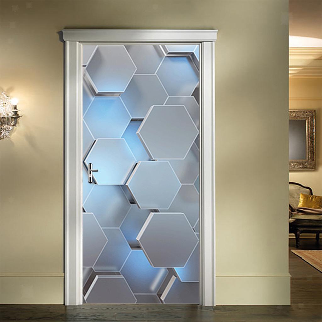 miniatura 22 - 3D Porta Adesivi Murali Decalcomanie Autoadesivo Adesivo Murale Carta Da