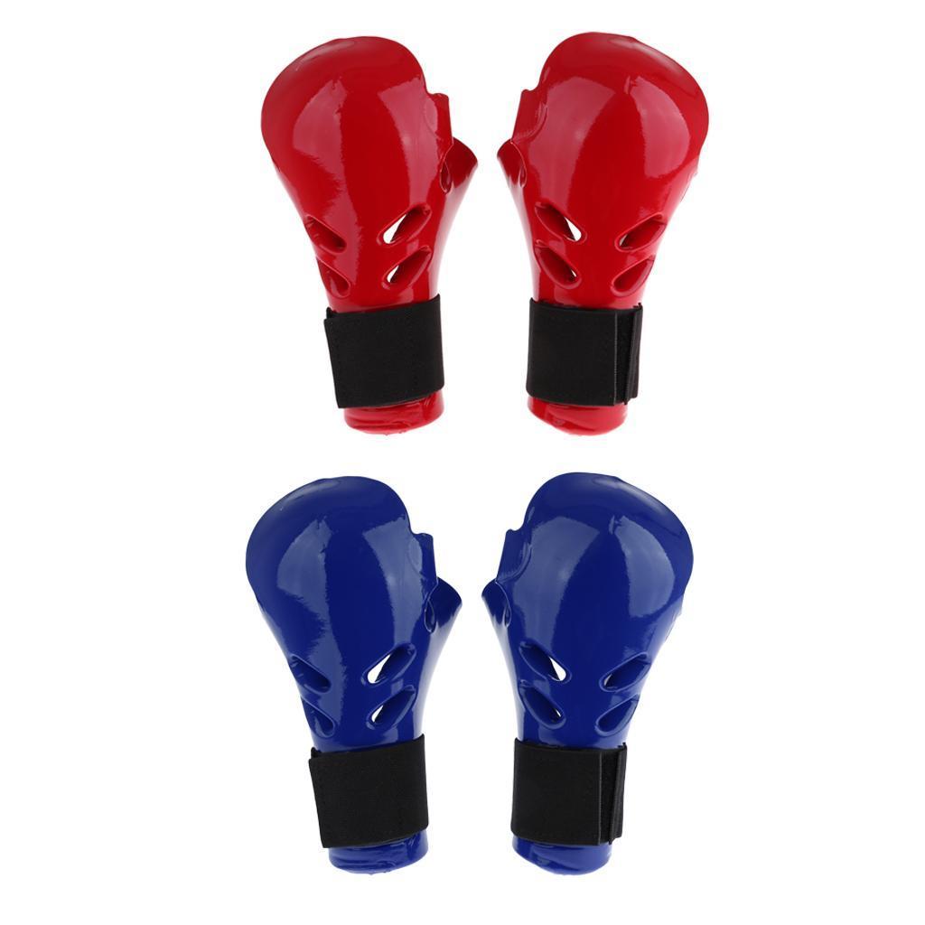 Indexbild 7 - Kinder Taekwondo Handschuhe Kampfsport Sparring TKD Grappling MMA Protector