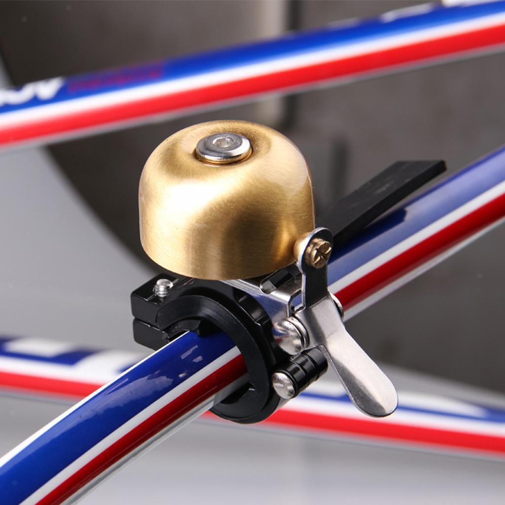 Kupfer-Fahrradglocke-Klingel-Fahrradklingel-Kompaktglocke-MTB-Glocke-Ring-1 Indexbild 2