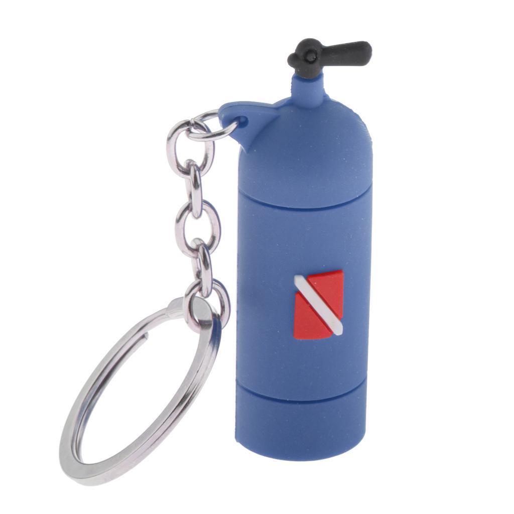 Mini-Diving-Tank-Key-Chain-Novelty-Dive-Air-Cylinder-Car-Keys-Diver-Bag-Tag-Ring thumbnail 15