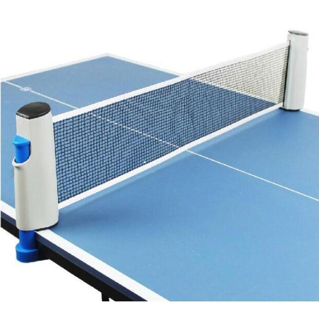 miniature 9 - Einziehbares table tennisnetz Grille stable Mesh Portable Table tennisnetz Rack