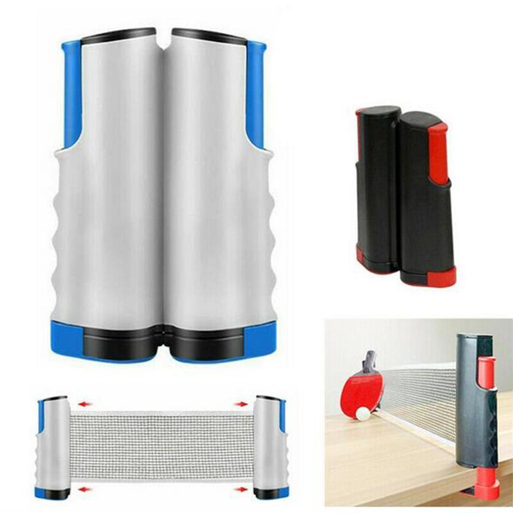 miniature 10 - Einziehbares table tennisnetz Grille stable Mesh Portable Table tennisnetz Rack