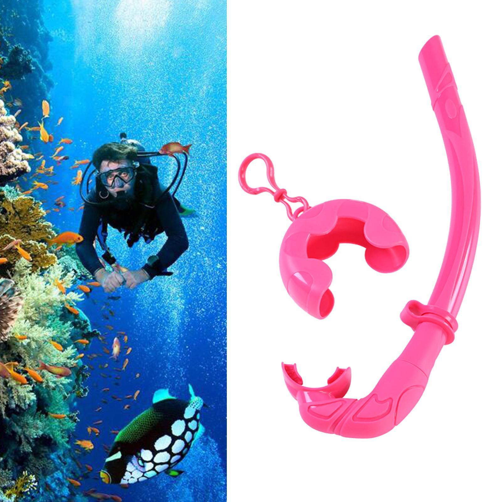 Indexbild 14 - Premium Wet Snorkel Women Men Adults Snorkels Breathing Tube Breath Tube