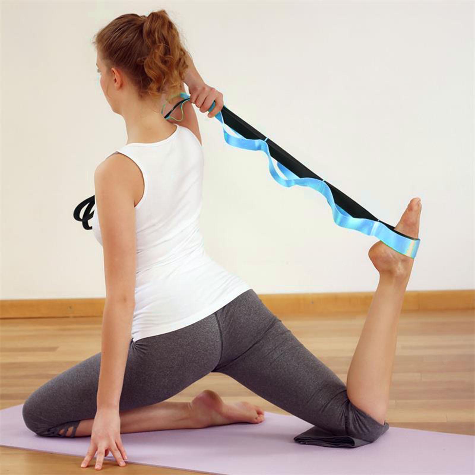 miniatura 8 - Pierna camilla yoga Stretch Strap Latin Dance Gymnastic pull cinturón flexibilidad