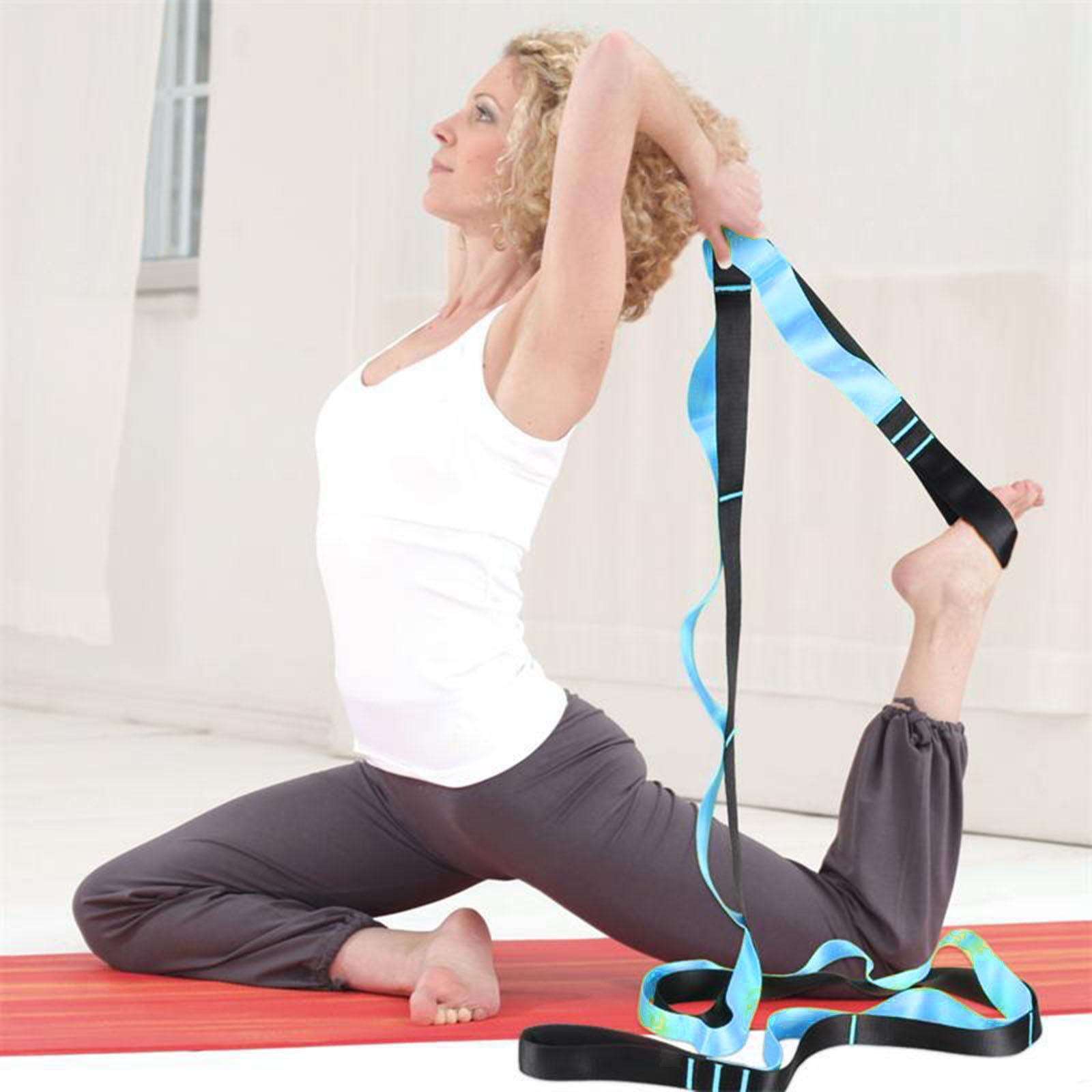 miniatura 6 - Pierna camilla yoga Stretch Strap Latin Dance Gymnastic pull cinturón flexibilidad