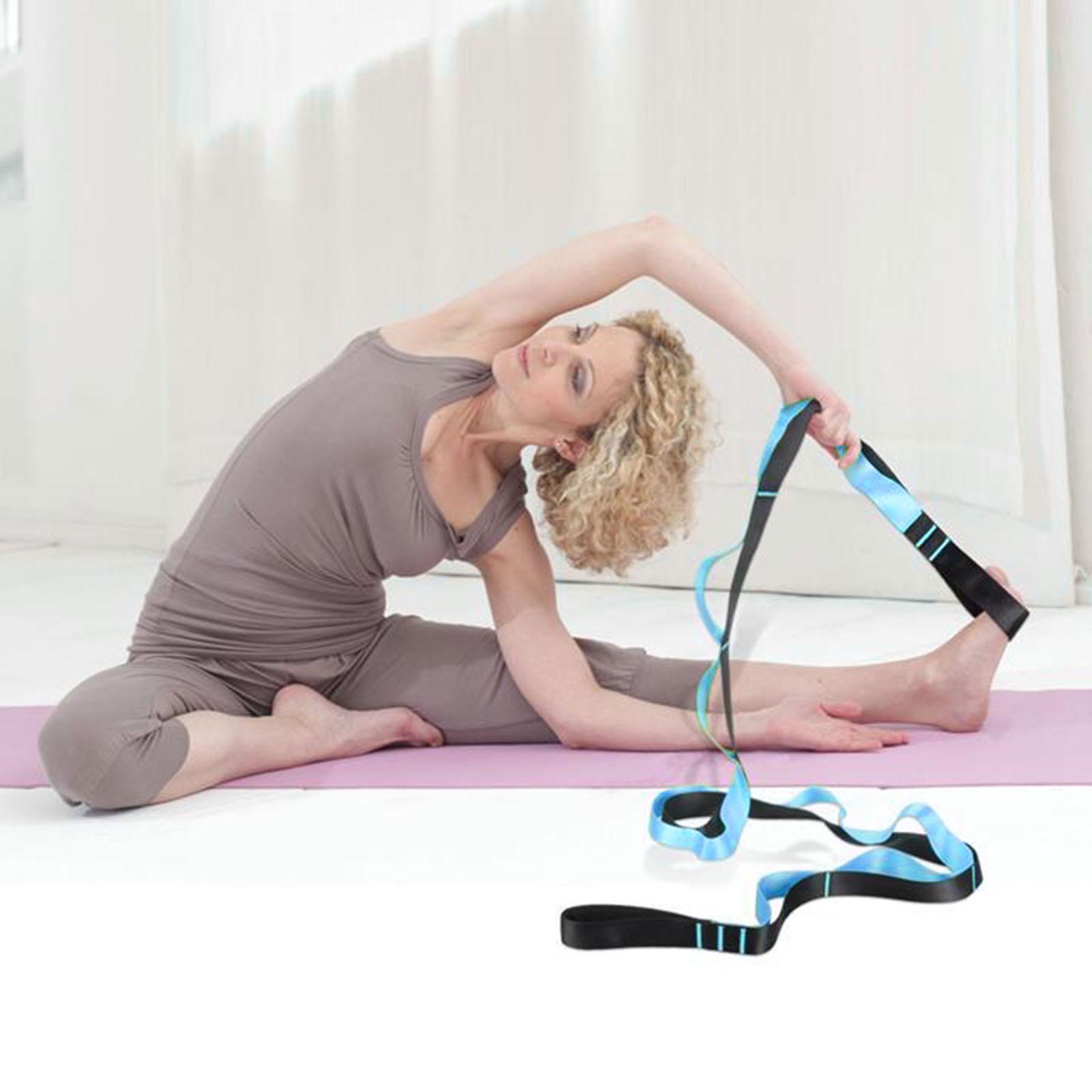 miniatura 10 - Pierna camilla yoga Stretch Strap Latin Dance Gymnastic pull cinturón flexibilidad