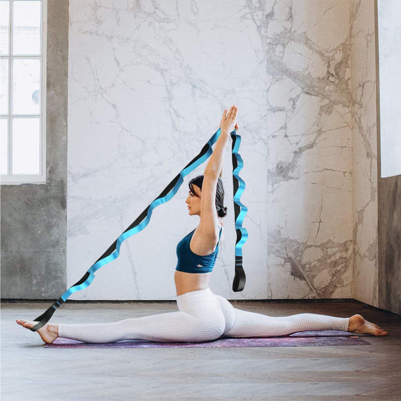 miniatura 5 - Pierna camilla yoga Stretch Strap Latin Dance Gymnastic pull cinturón flexibilidad