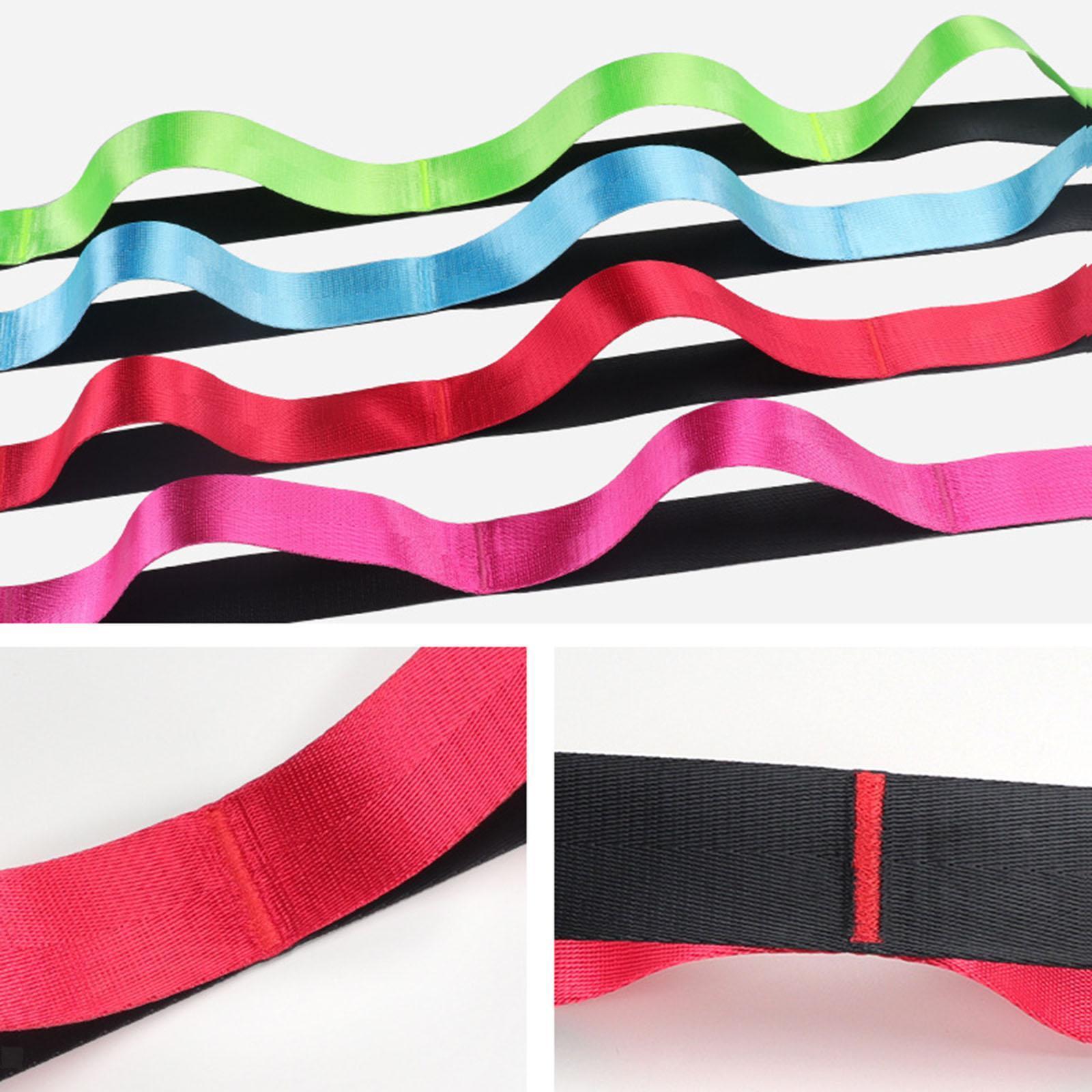 miniatura 13 - Pierna camilla yoga Stretch Strap Latin Dance Gymnastic pull cinturón flexibilidad