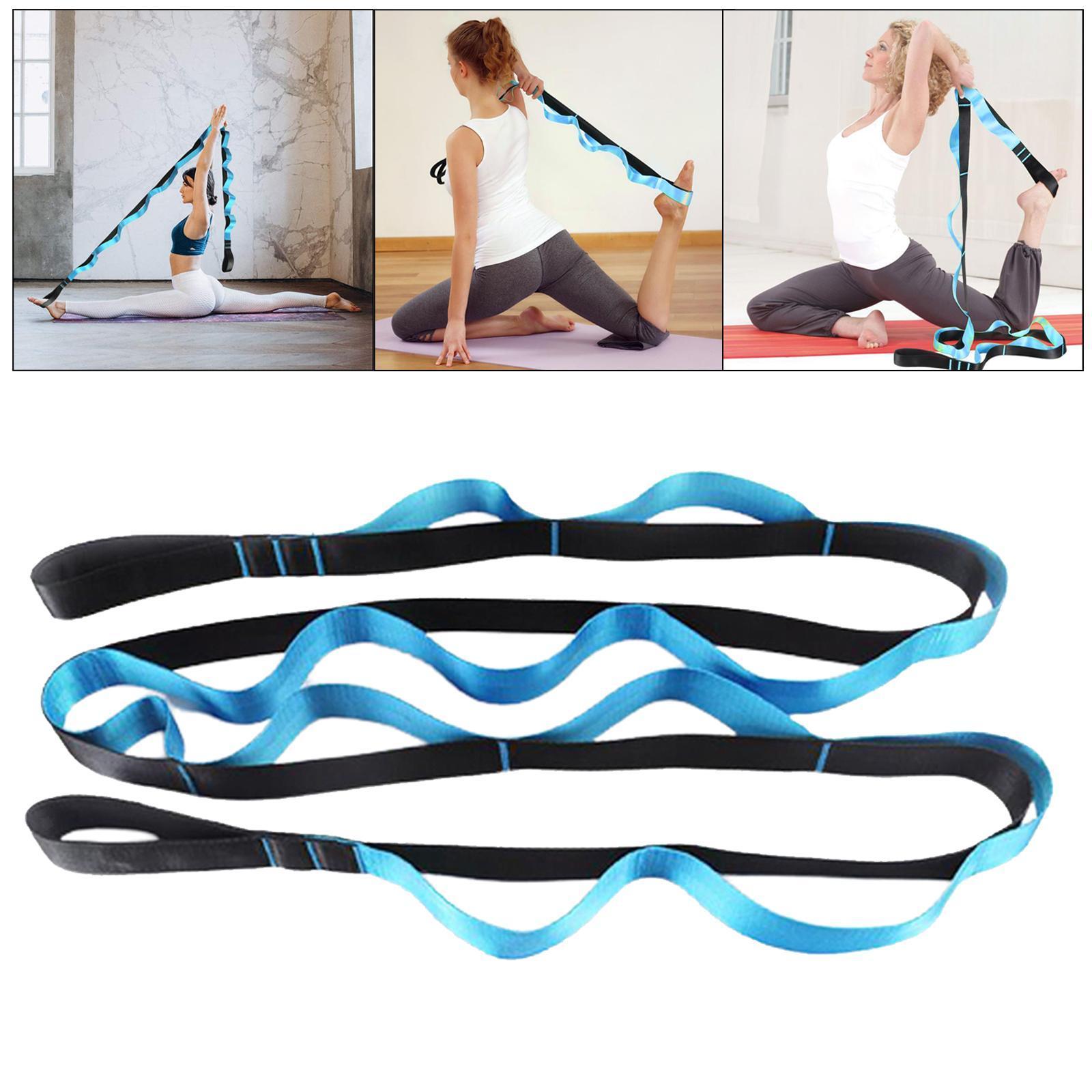 miniatura 12 - Pierna camilla yoga Stretch Strap Latin Dance Gymnastic pull cinturón flexibilidad