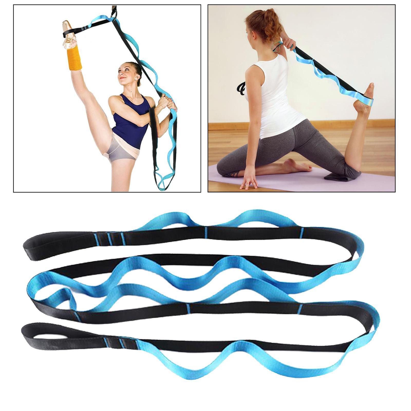 miniatura 7 - Pierna camilla yoga Stretch Strap Latin Dance Gymnastic pull cinturón flexibilidad