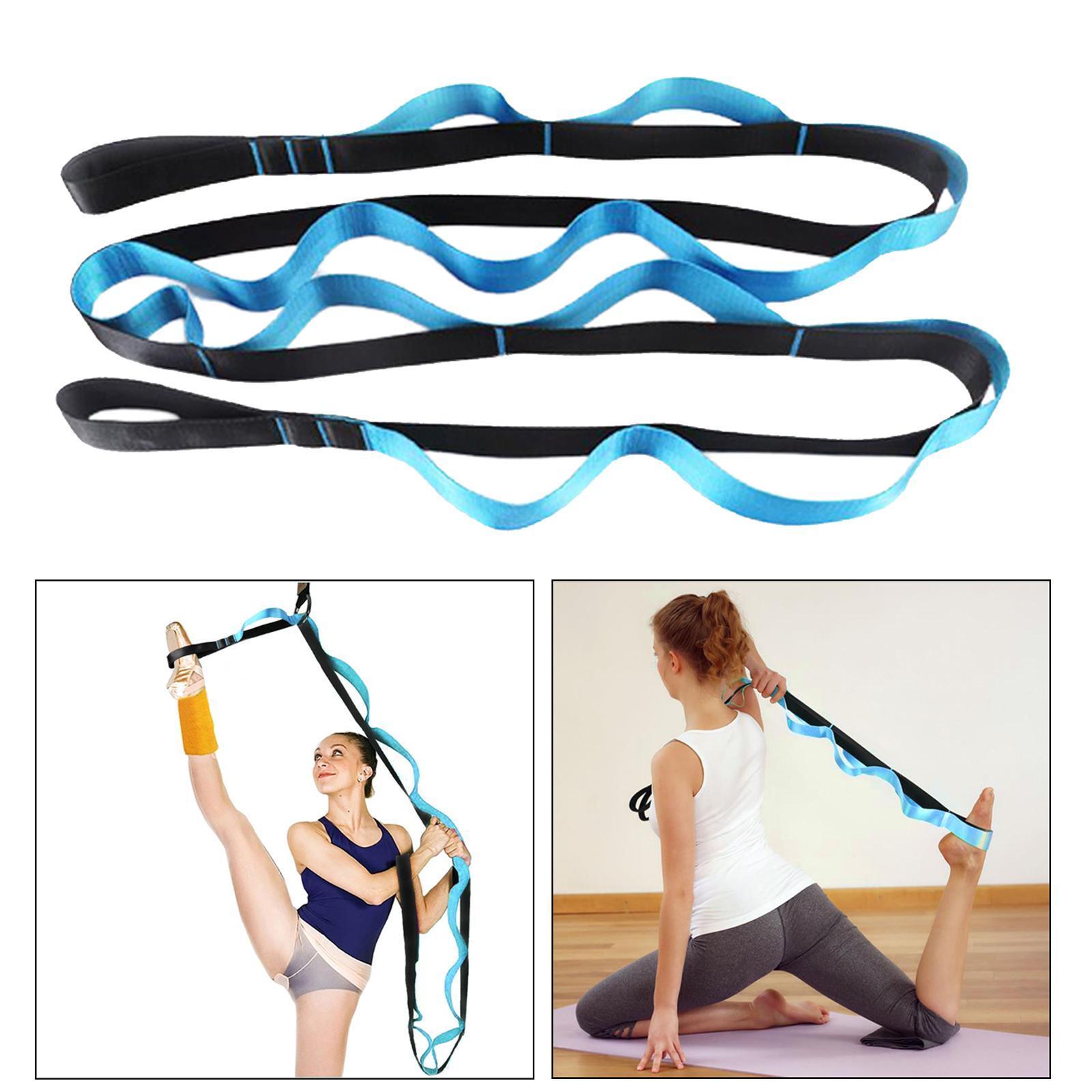 miniatura 11 - Pierna camilla yoga Stretch Strap Latin Dance Gymnastic pull cinturón flexibilidad