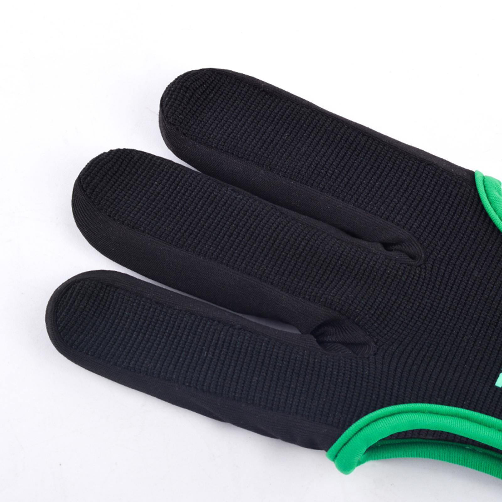 thumbnail 89 - Archery Glove for Recurve & Compound Bow 3 Finger Guard for Women Men Youth