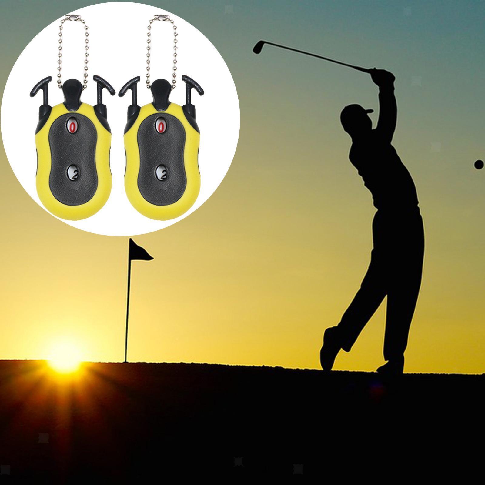 Indexbild 30 - 2 Stück Golf Score Zähler 2-in-1 Double Dial Stroke Putt Scorer mit